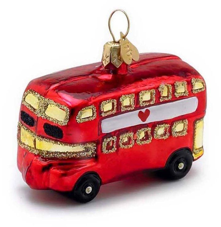 Bombki - Little London Bus Tree Decoration This is a heirloom quality decoration