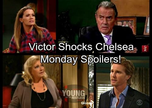 The Young and the Restless Spoilers: Monday, February 12 – Victor Gives Chelsea Stern Warning – J.T. and Traci Bond Over Colleen | Celeb Dirty Laundry