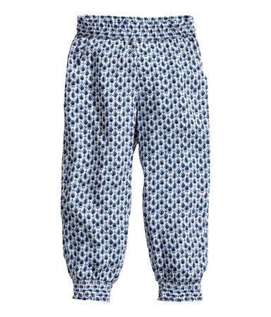 H&M Patterned trousers $14.95
