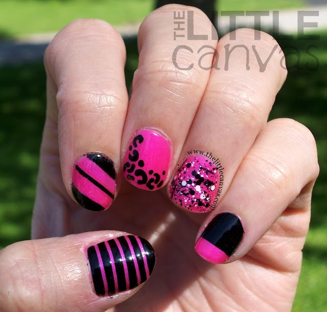 The Little Canvas:   #nail #nails #nailart