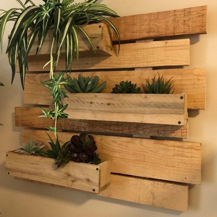 44 Simple Wall Plants Decorating Ideas Zyhomy Pallet Garden