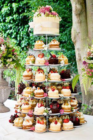 Wedding Cakes -  Tea Party Tower