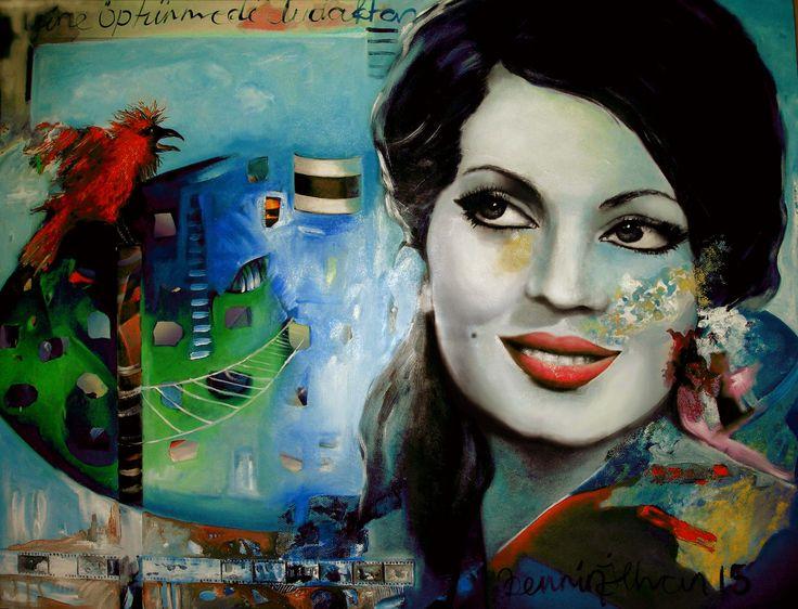 oil on canvas 120 x 90 cm
