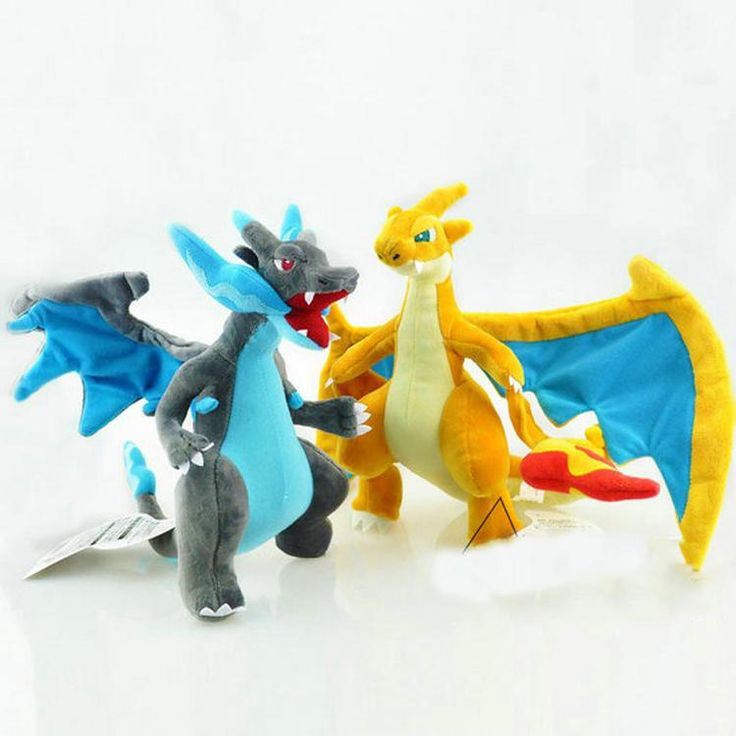 "10"" Mega Charizard XY Pokemon Plush | Plushie Paradise - Your Source for Stuffed Animals and Plush Toys"