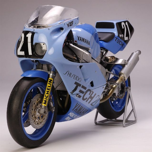 Racing Scale Models: Yamaha YZF 750 8 Hours Suzuka 1987 Team Tech21 by ...