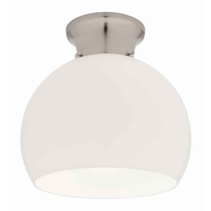 Bathroom Lighting Bunnings: Light Batten Fix Mercator Chr Opal Glass Ambra L1871bc