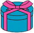 プレゼント無料イラスト  プレゼント箱無料イラスト Gift Box free clip art