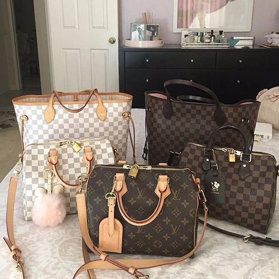 2019 Neue LV-Kollektion für Louis Vuitton Handtaschen, muss es haben #Louisvuittonhan …