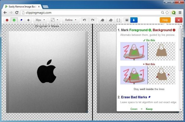 how to easily remove background from images with Clipping Magic #photo editing #free #web service