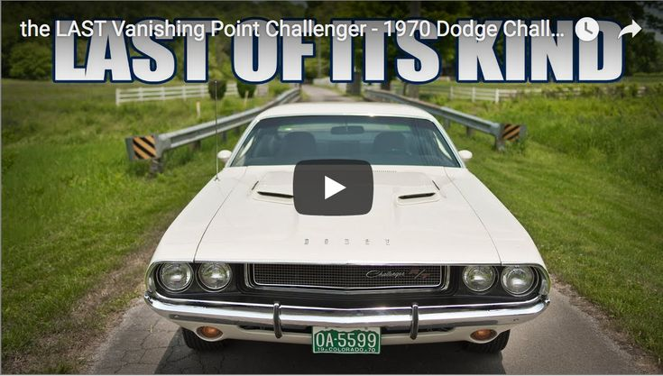 the LAST Vanishing Point Challenger - 1970 Dodge Challenger RT HEMI - https://www.musclecarfan.com/last-vanishing-point-challenger-1970-dodge-challenger-rt-hemi/