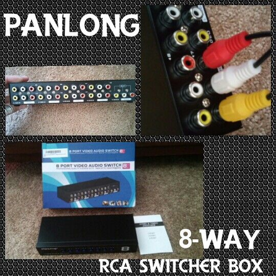 #Panlong 8-Way #AV #Switch #RCA Switcher 8 In 1 Out Composite #Video L/R Audio Selector #Box for #DVD #STB #Game #Consoles #ad http://amzn.to/2g6EYlb   Check it Out ► #Save 50% on #Ink and save #money + get a #FREE #Month of #Ink when #you sign up #HP #ad   http://try.hpinstantink.com/hzTV6