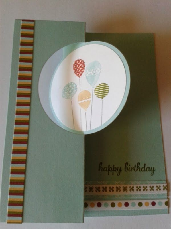 Pink Paper Bakery: Happy Birthday Swap Card