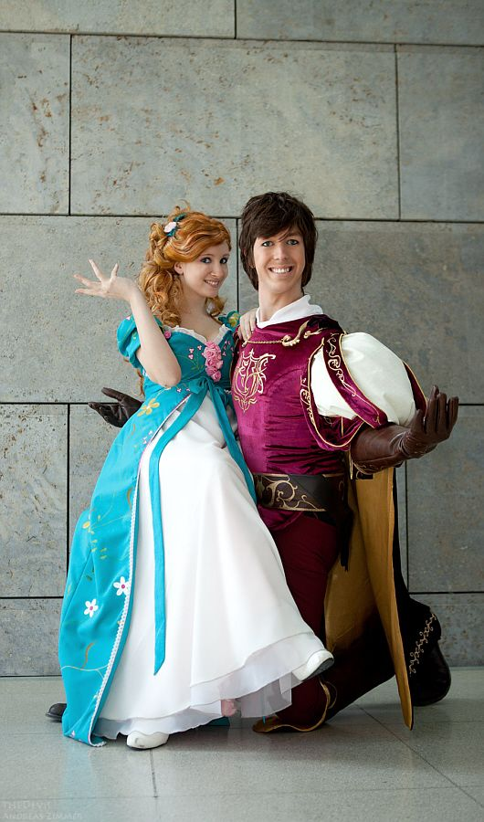 Fabulous Edward x Giselle Disney Cosplay by berrytan.deviantart.com; Cosplay & Costumes