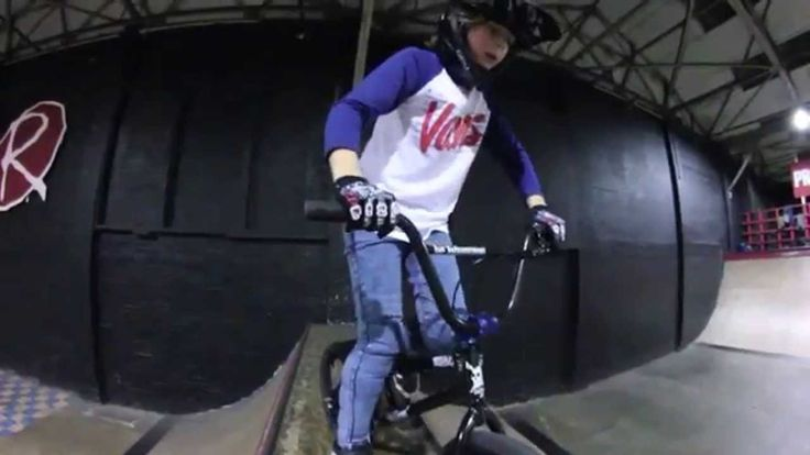 A few Totally Rad BMX Kids, from 10-12 years old who Shred! So rad!