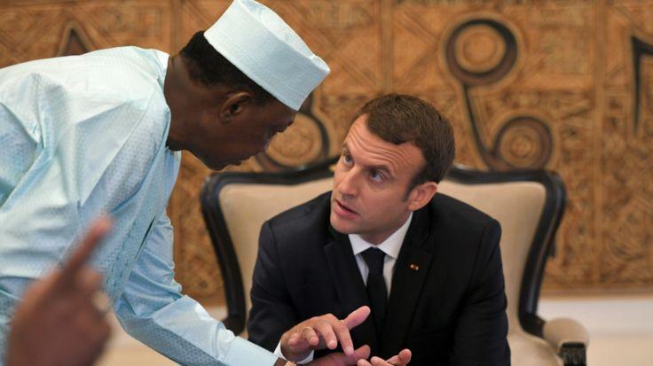 Le vrai problème de l'Afrique selon Emmanuel Macron ? Les Africaines, qui ont «sept à huit enfants»  MACRON ZÉRO ENFANT