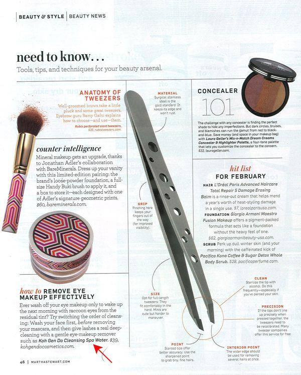 KohGenDo Cosmetics High Definition Cosmetics - Martha Stewart Magazine
