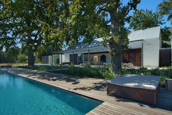 Maison van der Merwe Miszewski Architects farmhouse renovation, Franschhoek Valley, Cape Winelands