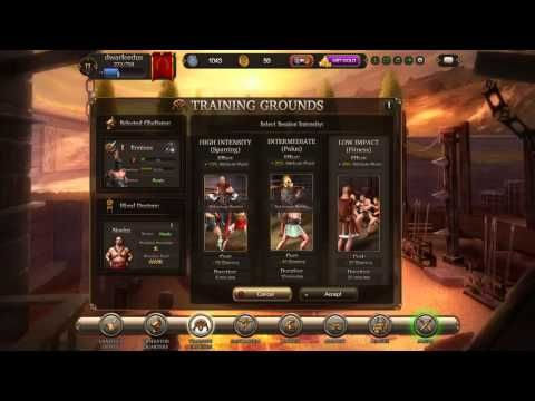 Gladiators Online - RAW Gameplay 4 - Gladiators Online [Death Before Dishonor] is a Free to play Combat management MMO blood sport Game that makes players the owner of a gladiator team in ancient Rome