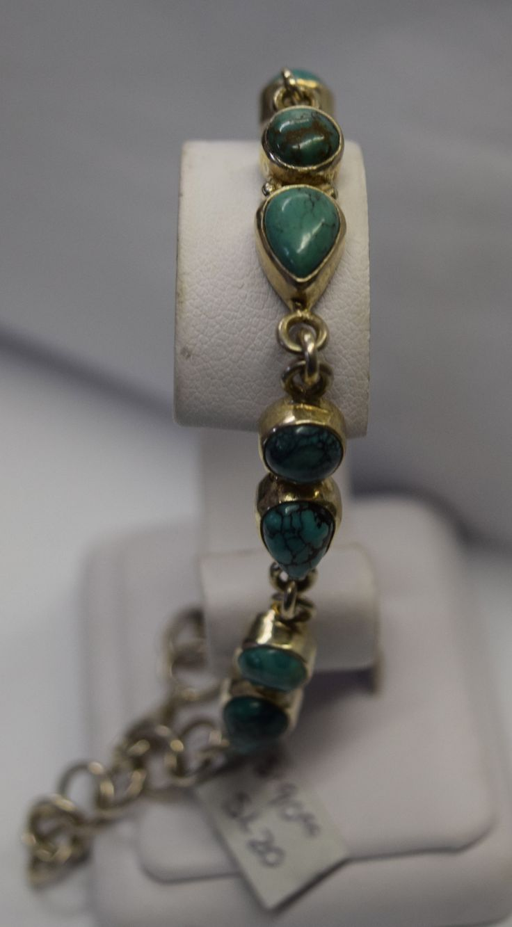 Turquoise Silver Bracelets