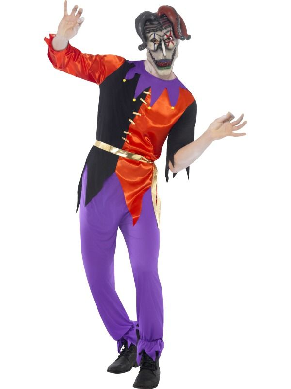 Twisted Evil Jester Costume  £33.99 : Direct 2 U Fancy Dress Superstore. Fancy Dress, Party Themes & Accessories For The Whole Family. http://direct2ufancydress.com/twisted-evil-jester-costume-p-6729.html