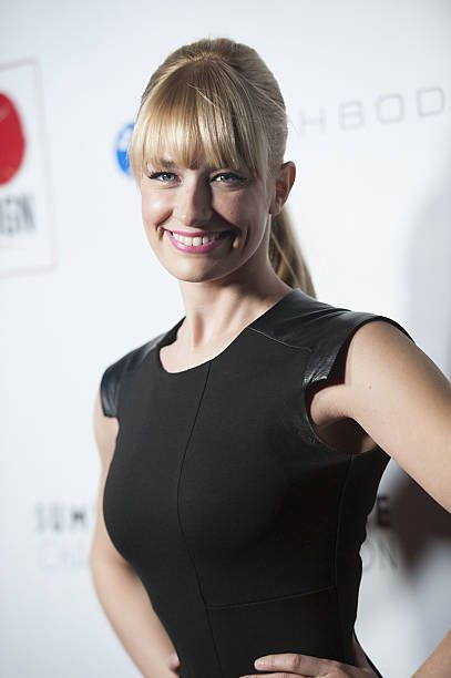 Actress Beth Behrs arrives at the 6th Annual GO GO Gala at the Bel Air Bay Club on November 14 2013 in Pacific Palisades California