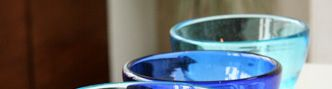 琉球ガラス ちゅら海セット 小鉢 / 手作り琉球ガラスを沖縄から産地直送!沖縄土産も通販で!