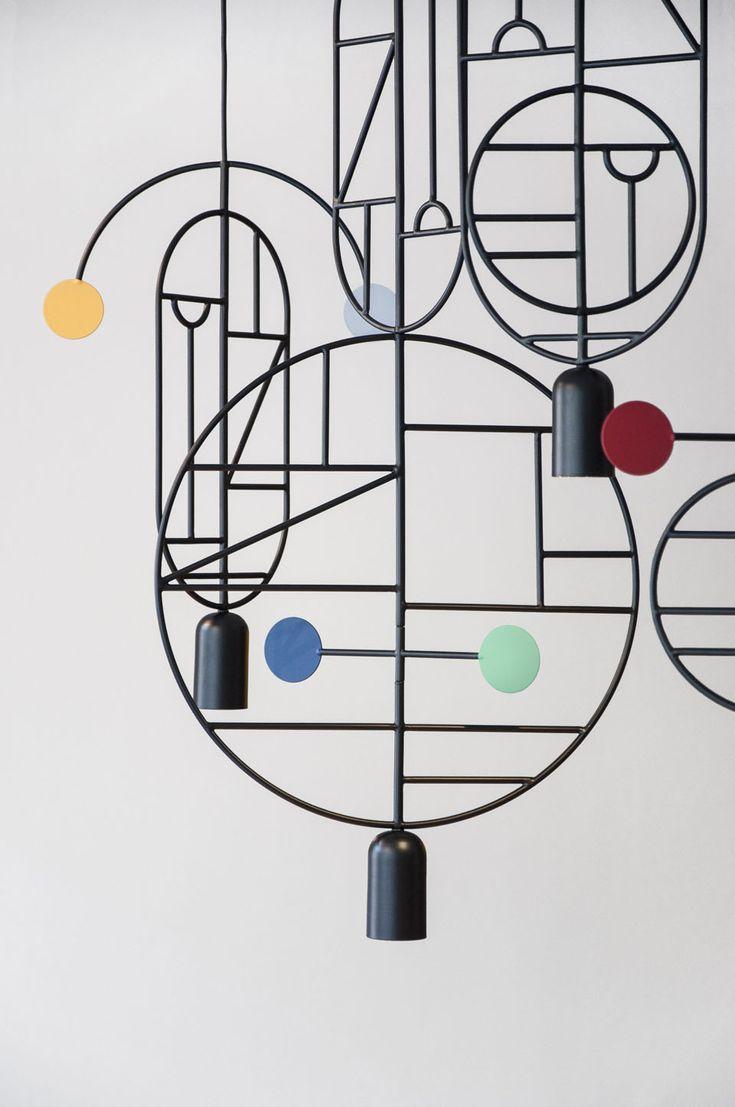 Mobiles graphiques |MilK decoration