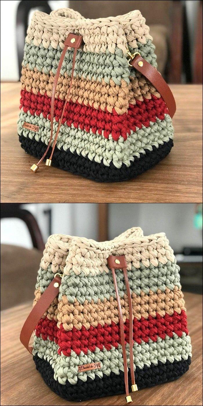 Handbag Pattern Crochet Design Idea