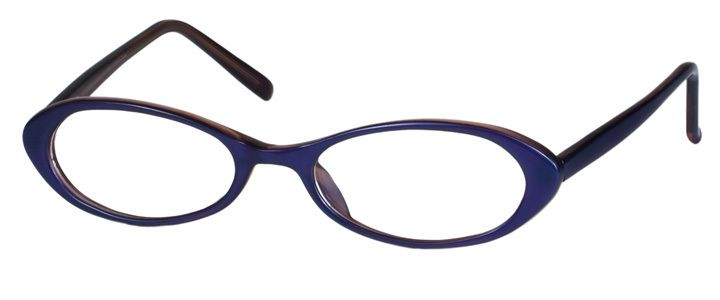 Frame with light & thin Rx lenses, UV & Scratch coatings, and polished edges