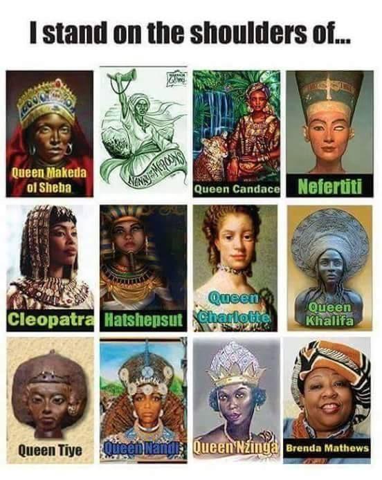 On the shoulders of my Ancestors..