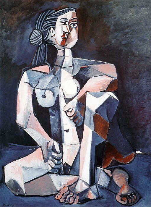 Picasso: Nu assis (1953)