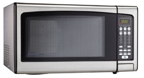 Danby Designer 1.1 cu.ft. Countertop Microwave, Stainless Steel, 2016 Amazon Most Gifted Wall Ovens  #MajorAppliances