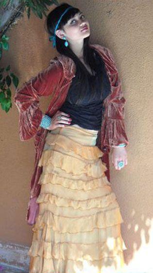 Princess Skirt: Gypsy Boho Style, Velvet Dreams, Hippiecowgirl Chickanni, Clothing, Gypsy Skirts, Princesses Coats, Princesses Skirts, Dresses Codes, Boho Dreams
