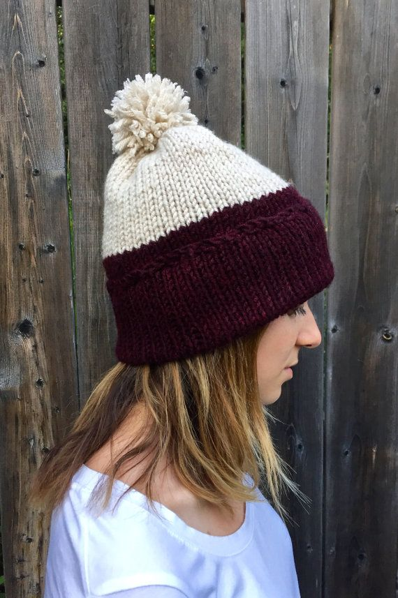 ↠ Handmade ↠ Seamless ↠ Detachable Pom pom ↠ Features a classic two colour pattern ↠ Machine wash and dry ↠ The perfect blend of wool acrylic WHY PEOPLE LOVE THIS This classic and cozy two tone hat is the perfect winter accessory. It is both trendy and subtle. This hat would make the perfect gift or addition to your fall and winter wardrobe. MATERIAL & CARE This hat is the perfect blend of acrylic and wool. Machine washable and dry-able makes for easy care. It can also be lightly ironed…