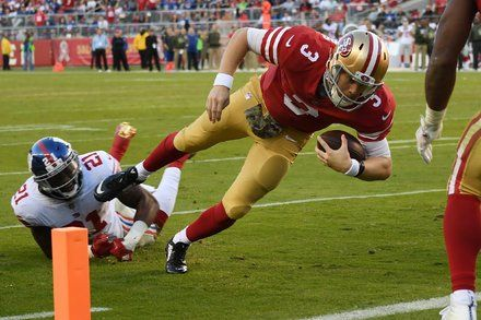 Giants Season Sinks Even Lower With Loss to 49ers