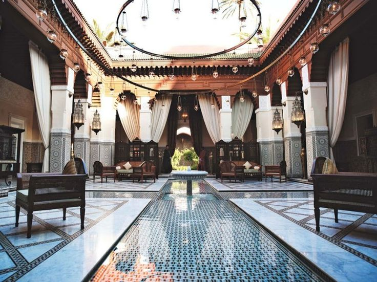 Bankrolled by the Moroccan royal family, Marrakech's Royal Mansour hotel comprises 53 riads and has interiors (including the lobby, shown) by Parisian decorator 3 Bis.: Royal Families, Marrakech, Interior, Style, Royal Family, Mansour Hotel, Morocco, Moroccan Royal