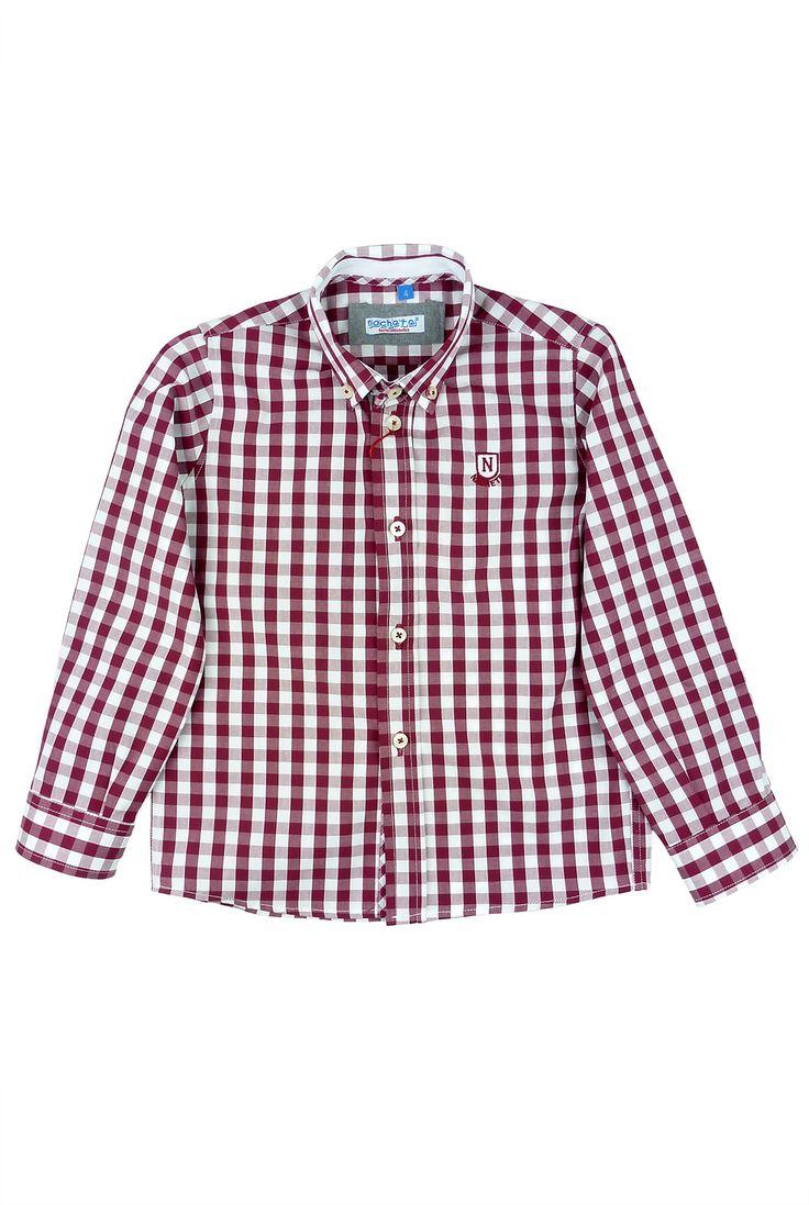 Nachete camisa de cuadros Cerezo