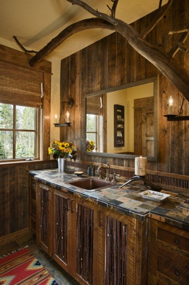 Rustic Bathroom Inspiration