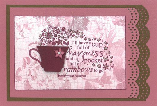 Stamp-it Australia: siset106 Cup of Happiness - Card by Carolyn