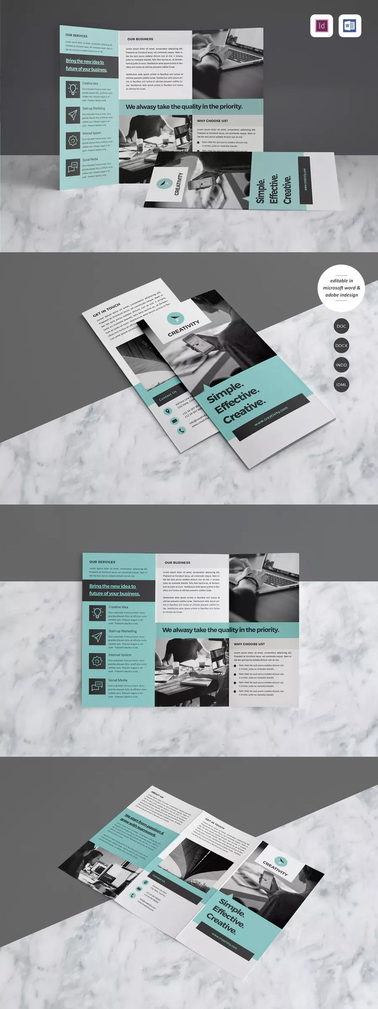 444 best 折页 images on Pinterest   Brochures, Layout design and ...