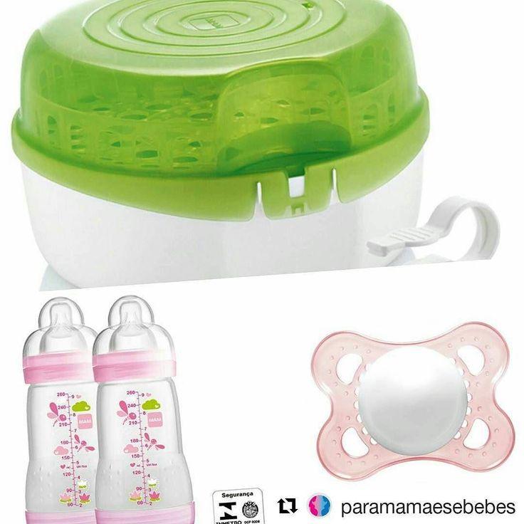 Tem promocao desse kit maravilhoso que nao pode faltar no seu enxoval!! Kit com 4 produtos MAM!! Esterilizador 2 mamadeiras de 260ml e 1 chupeta por R$29999  frete fixo para todo o Brasil de R$2200. . . #Deusnocomando #paramamaesebebes #babyplanner #babyorganizer #importados #mam #esterilizador #mamadeira #chupeta #enxovaldebebe #mamae #papai #bebe #maternidade #baby  #assessoriamaterna #ribeiraopreto #brasil #euquero #gravida #gestante #pregnant #love #maedemenina #prontaentrega