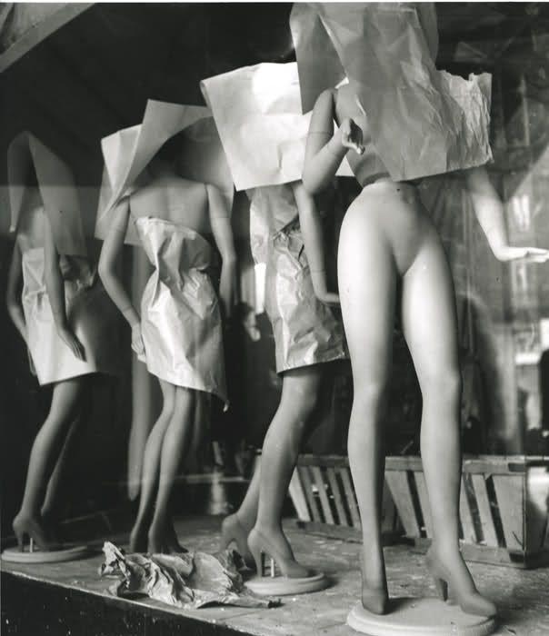 "GALERIES LAFAYETTE, Paris, France, ""Untitled"", creative by Edouard Boubat (1949), pinned by Ton van der Veer"
