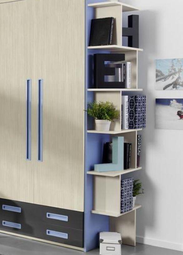 Estante lateral puertas armarios y vinilos pinterest - Vinilos puertas armarios ...