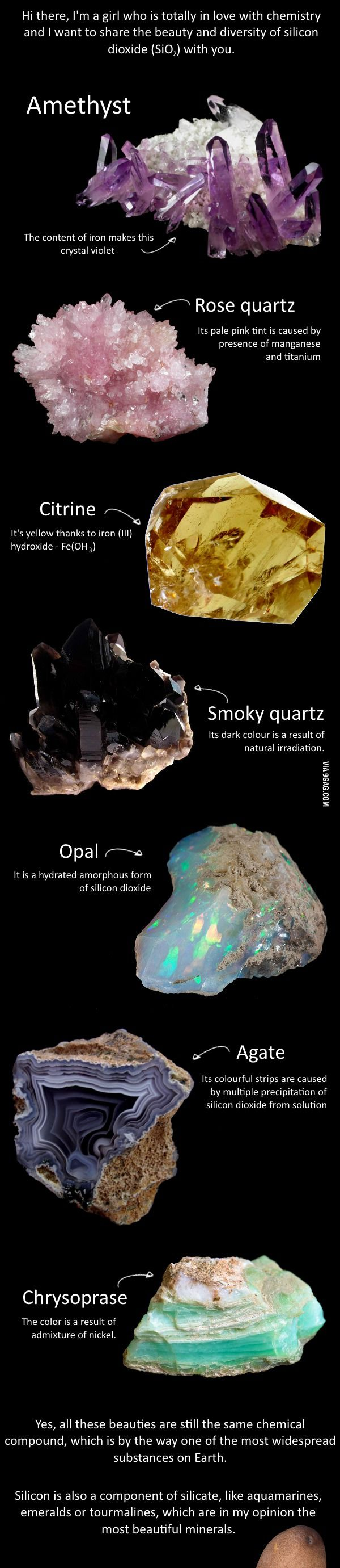 Jesus, Marie, it's minerals!