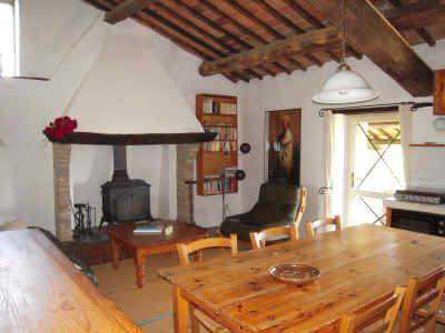 Camino, een appartement voor vier personen in een rustiek boerenhuis in Umbrië, het groene hart van Italië
