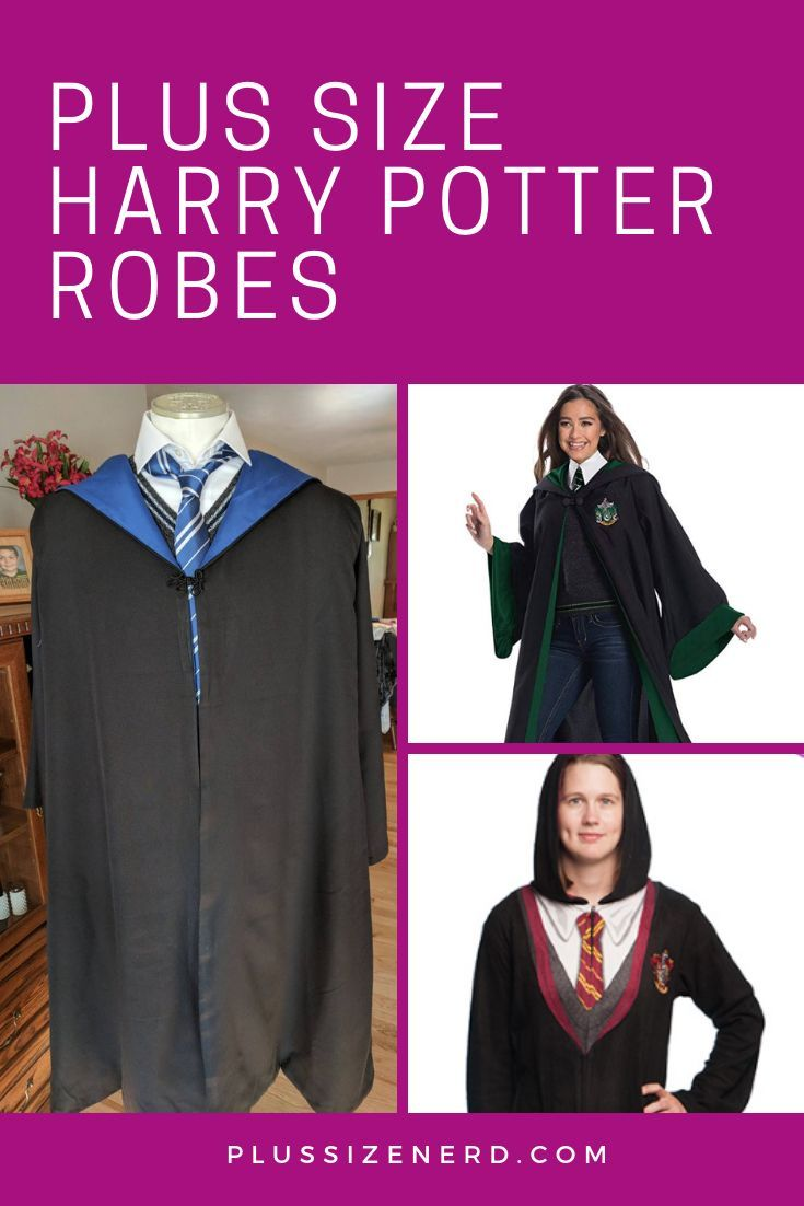 Plus Size Harry Potter Robes Harry Potter Robes Hogwarts Robes Harry Potter Outfits