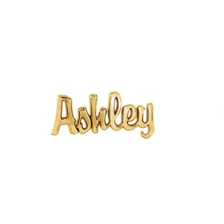 Custom 14K Gold Vermeil Script Name Earrings  - click to get yours right now!