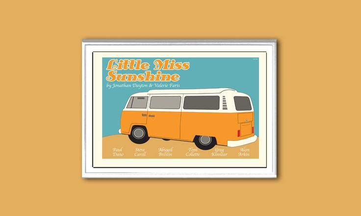 Little Miss Sunshine 18x12 inches movie poster. £10.20, via Etsy.