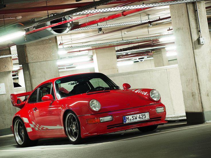 Visit The MACHINE Shop Café... ❤ Best of Porsche @ MACHINE ❤ (Red PORSCHE 911 RUF RCT)