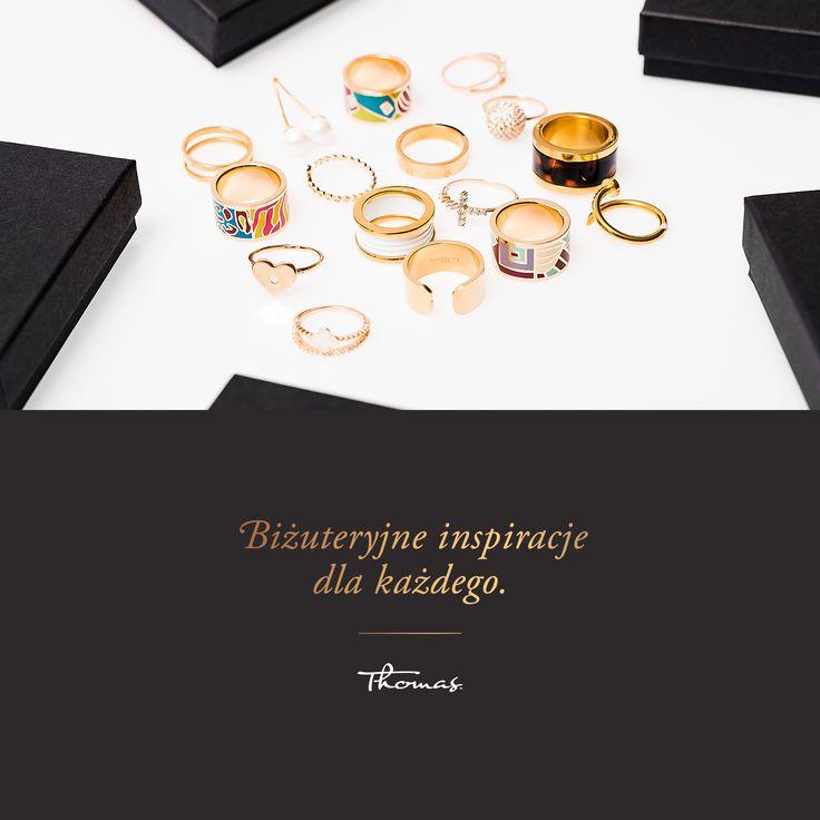 #pierścionki #thomas #bizuteria #biżuteria #kobieta #women